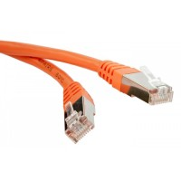 Lanmaster LAN-PC45/S6A-0.5-OR Патч-корд RJ45 - RJ45, 4 пары, S/FTP, категория 6A, 0.5 м, оранжевый, LSZH, LANMASTER