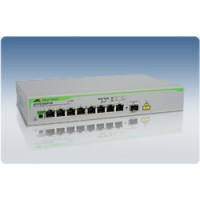 Коммутатор 8 port 10/100 unmanaged POE switch with 1 SFP uplink