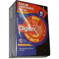 Коробка Digitex для 1 dvd slim 7mm (10шт)