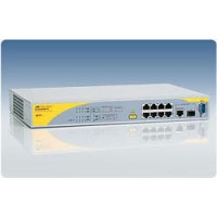 Коммутатор 8 Port POE Managed Fast Ethernet Switch with One 10/100/1000T / SFP Combo uplinks