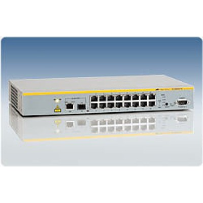Коммутатор 16 Port Managed Fast Ethernet Switch with One 10/100/1000T /  SFP Combo uplinks