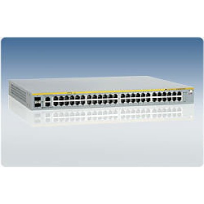 Коммутатор 48 Port POE Stackable Managed Fast Ethernet Switch with Two 10/100/1000T/SFP Combo uplink