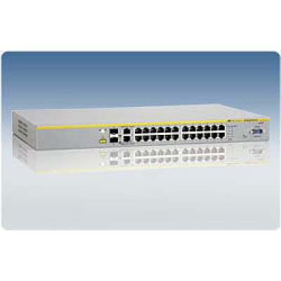 Коммутатор 24 Port POE Stackable Managed Fast Ethernet Switch with Two 10/100/1000T / SFP Combo upli