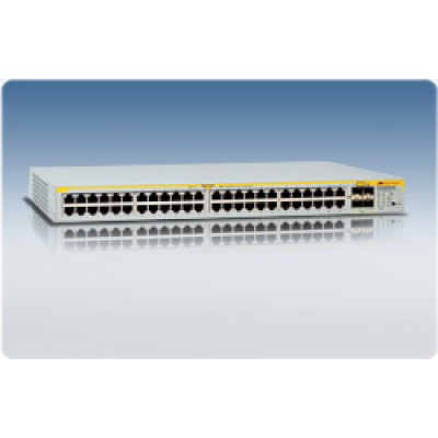 Коммутатор Layer 2 switch with 48-10/100/1000Base-T ports plus 4 active SFP slots (unpopulated)
