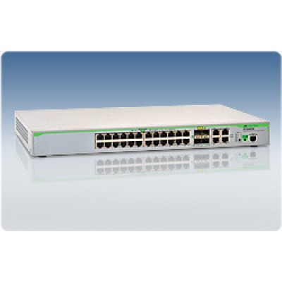 Коммутатор Layer 2switch with 28-10/100/1000Base-T ports plus 4 active SFP slots (unpopulated)